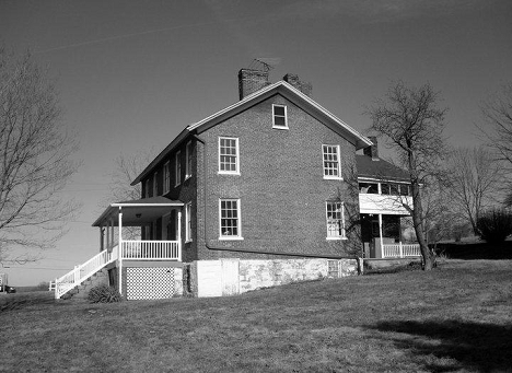 Abel Colley Tavern SE Elevation 2011