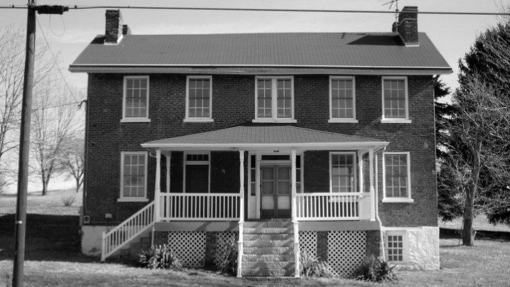 Abel Colley Tavern Ghost Expedition Fall 2014 Smock, Pennsylvania [Photo: Fayette Co Historical Society]