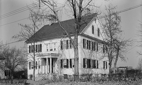Poplar Hill 1936 SW Elevation Library of Congress