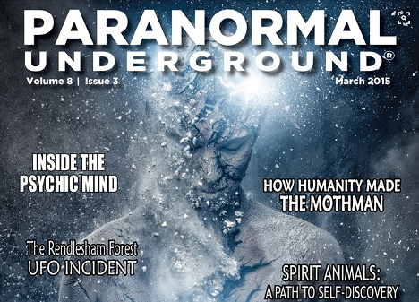Paranormal Underground ® magazine - In the Dark Radio Show