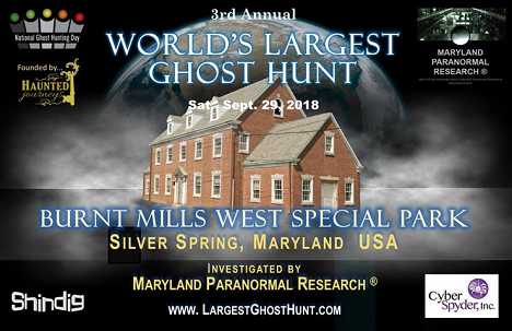 National Ghost Hunting Day - Burnt Mills West Special Park