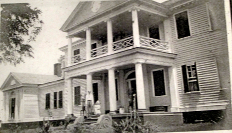 Belle Grove Plantation (c 1901), NW ELEVATION