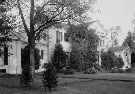 Belle Grove Plantation (c 1934), NE ELEVATION