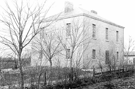 Somerset County Jail [Grey Eagle Post] (c1910), SOUTHEAST EAST ELEVATION